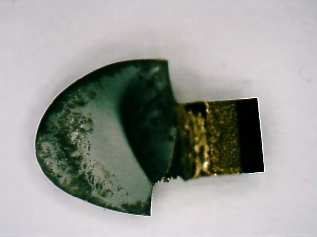 CBN Hartmetall Bruchfläche von unten 900N HM mit 6% Co Prozess V4 Bild 1
